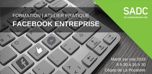 Formation: Optimisez votre page FACEBOOK d'entreprise