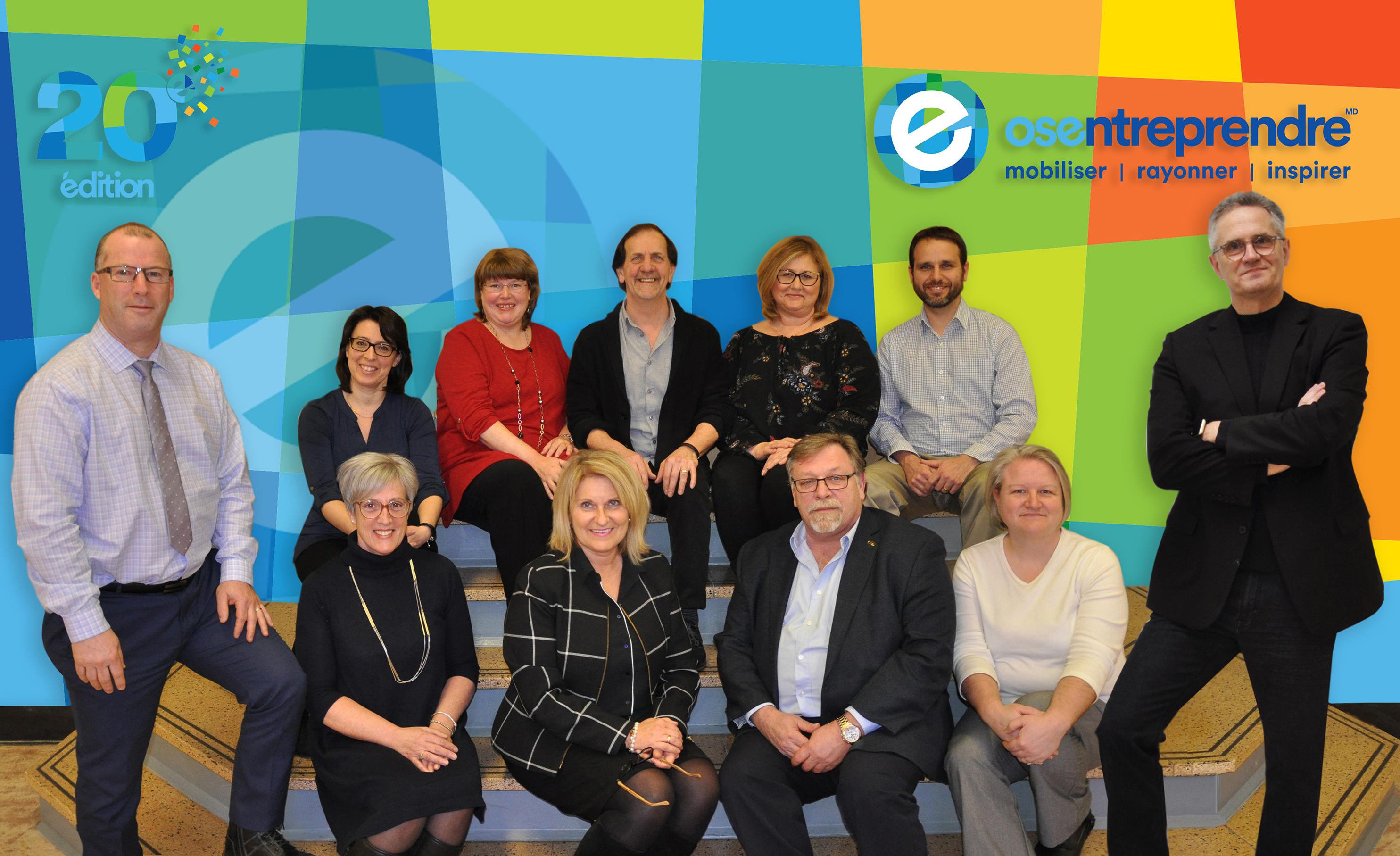 20e édition du Concours québécois en entrepreneuriat. Pour une communauté unie, fière et engagée!