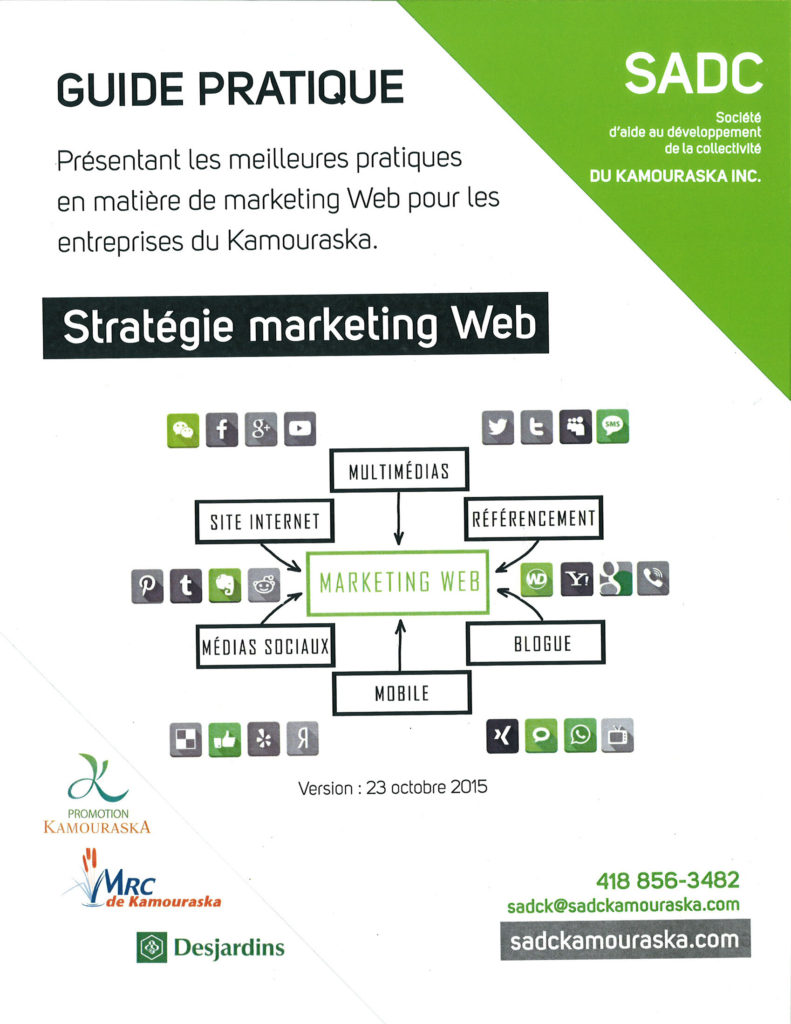 Guide marketing page couverture