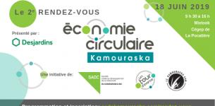 18 juin 2019 –  2e Rendez-vous de l'économie circulaire au Kamouraska