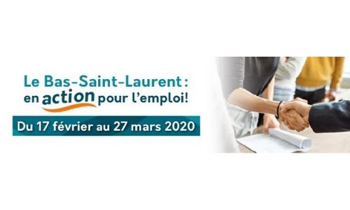 *ANNULÉ* 17 février et 27 mars 2020 – Le Bas-Saint-Laurent : en action pour l'emploi!