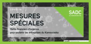 COVID-19   Outils financiers d'urgence pour les entreprises du Kamouraska