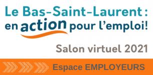 Salon virtuel de l'emploi du Bas-Saint-Laurent